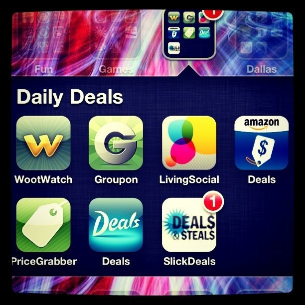 Apps to keep on your iPhone to track daily deals   Genpink