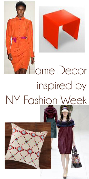 Use New Year Fashion Week to Inspire your Home Decor   Genpink
