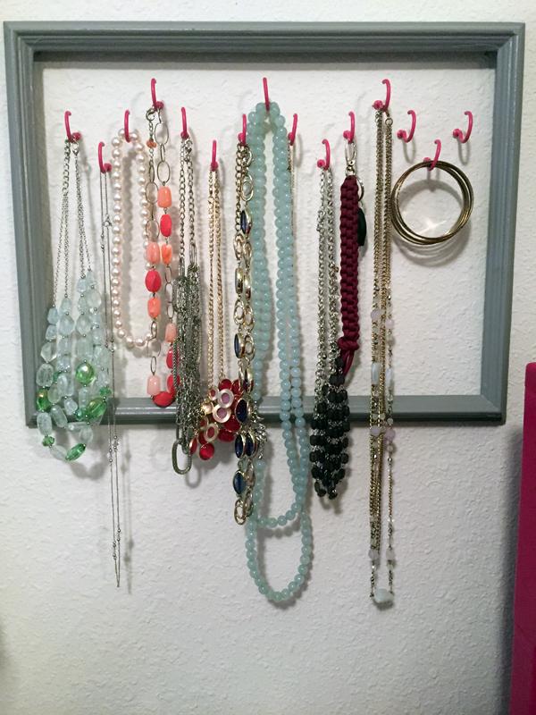 Jewelry Organizer: A weekend DIY