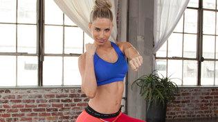 cosmobody kickboxing video at home via genpink.com