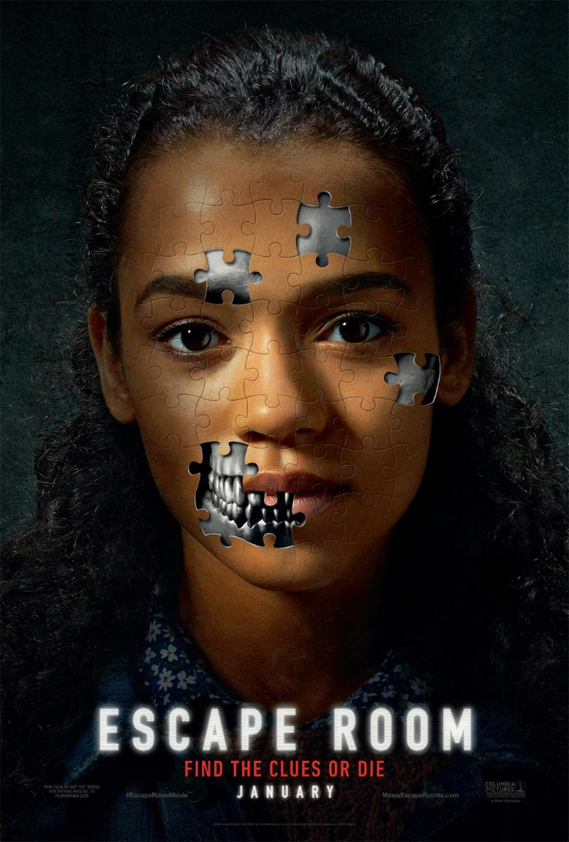 Movie Thoughts: ESCAPE ROOM | Opens in Theaters January 4th